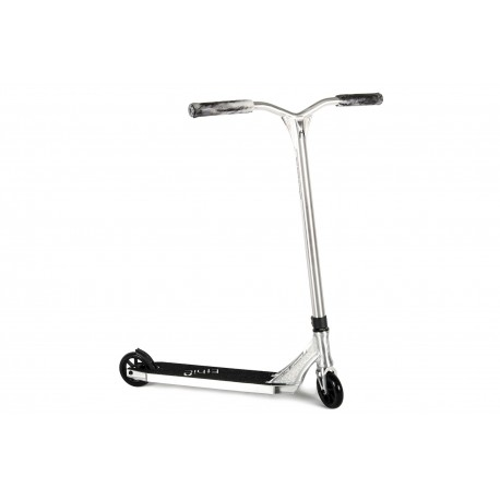 ETHIC Erawan Scooter Brushed Chrome Edition - Trottinette Freestyle Complète