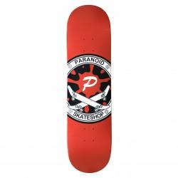 "PARANOID Classic Team 8.5"" Deck Skateboard - Plateau de Skate Professionnel"