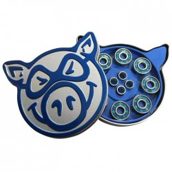 PIG Abec 3 Blue Tin - Roulements / Bearings
