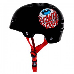 BULLET x SANTA CRUZ Eyeball Helmet - Casque de Protection Enfant