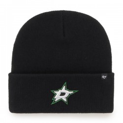 47 NHL Dallas Stars Haymaker Cuff Knit  Beanie Black - Bonnet 47