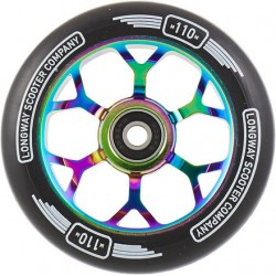 LONGWAY Precinct 110mm Wheels Neochrome - Roues Trottinette Freestyle