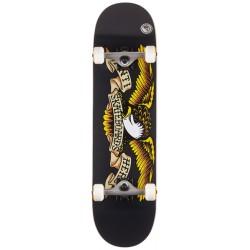 ZOO YORK Skateboard OG 95 Logo Block White/Black/Grey - Planche de Skate Pro Complète