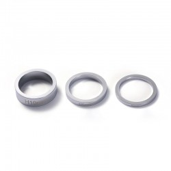 BLUNT SPACERS CHROME POUR BARRE / GUIDON