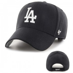 47 Cap MLB Los Angeles Dodgers MVP Black - Casquette 47