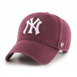 47 Cap MLB New York Yankees Legend MVP Dark Maroon - Casquette 47