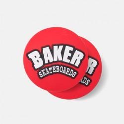 BAKER Coaster Red - Dessous de Verre en Caoutchouc