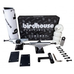 BIRDHOUSE Pack Trucks / Roues / Roulements pour Skateboard - Composants pour Planche de Skate