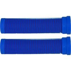 ODI Longneck Soft Grips Bleu - Poignées Trottinette Freestyle