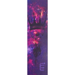 LONGWAY Printed Skull King Griptape Purple - Grip Trottinette Freestyle