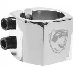 PANDA Double V2 Clamp Chrome - Collier de Serrage Trottinette Freestyle