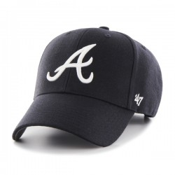 47 Cap MLB Atlanta Braves MVP Navy- Casquette 47