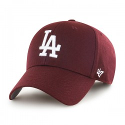 47 Cap MLB Los Angeles Dodgers MVP Dark Maroon - Casquette 47
