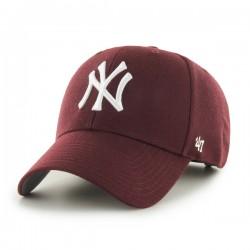 47 Cap MLB New York Yankees MVP Dark Maroon - Casquette 47