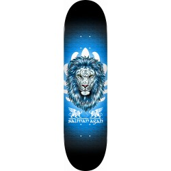"POWELL PERALTA PS Salman Agah Lion III 8.0"" Deck Skateboard - Plateau de Skate Professionnel"