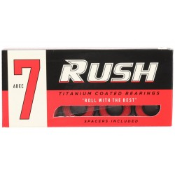 RUSH Abec 7 Red - Roulements / Bearings