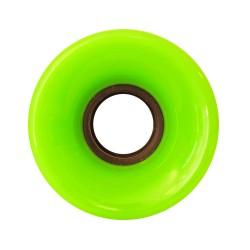 NAKED Wheels Cruiser Green 70mm - Roues Cruiser / Longboard