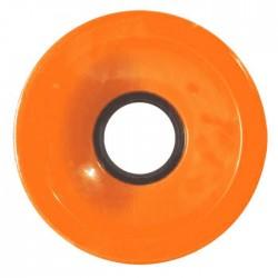 NAKED Wheels Cruiser Orange 70mm - Roues Cruiser / Longboard