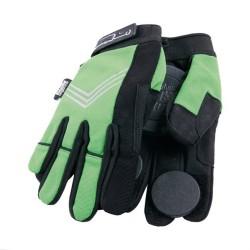 LONG ISLAND Slide Gloves Black - Gants Spécial Longboard