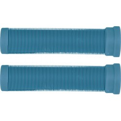 ODI Longneck Soft Grips Turquoise - Poignées Trottinette Freestyle