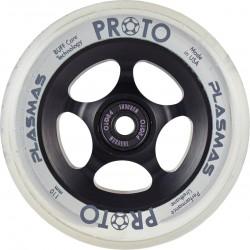 PROTO Plasma 110mm Wheels Black Matter - Roues Trottinette Freestyle