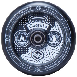 STRIKER Toni Castillo 110mm Wheels Black - Roues Trottinette Freestyle