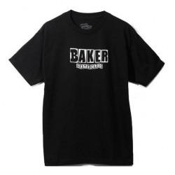 BAKER Brand Logo Tee-shirt - Black