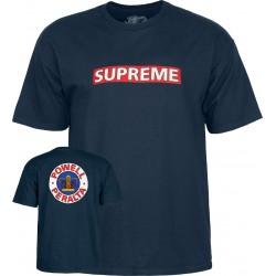 POWELL PERALTA x SUPREME Tee-shirt - Navy