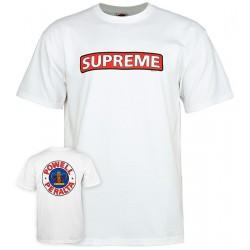 POWELL PERALTA x SUPREME Tee-shirt - White
