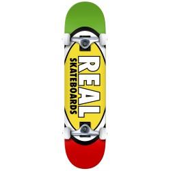 REAL Skateboard Team Edition Oval XL 8.25 - Planche de Skate Professionnelle Complète