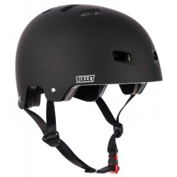 BULLET Helmet Deluxe Black Matt  - Casque de Protection S/M
