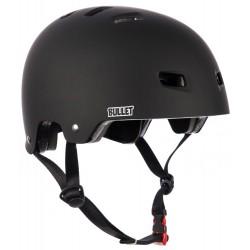BULLET Helmet Deluxe Black Matt  - Casque de Protection Enfant