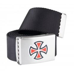INDEPENDENT Bar / Cross Web Belt Black - Ceinture Réglable