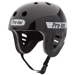 PRO-TEC Full Cut Water Helmet Gloss Black  - Casque de Protection S/M