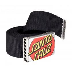 SANTA CRUZ Crop Dot Belt Black - Ceinture Réglable