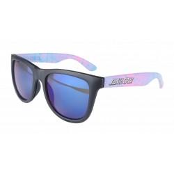SANTA CRUZ Snake Strip Sunglasses Black - Lunettes de Soleil