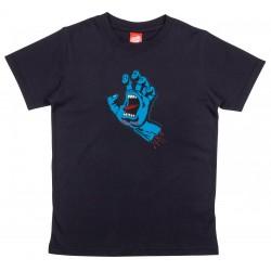 SANTA CRUZ Screaming Hand Youth Tee-shirt - Black