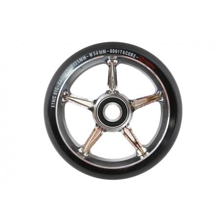 ETHIC DTC Calypso V1.5 125mm Wheels Chrome - Roues Trottinette Freestyle