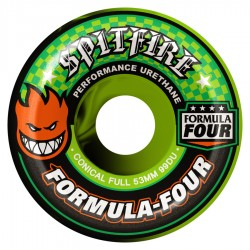 SPITFIRE Wheels Color Up CNCL Swirl F4 53mm - Roues Skateboard