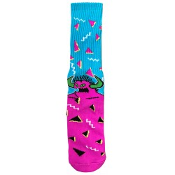 TOY MACHINE 80S Monster Crew Socks Multi - Chaussettes Montantes