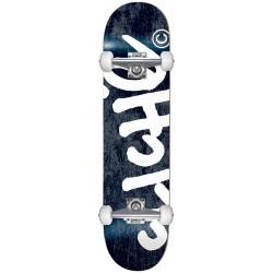 CLICHE Skateboard Handwritten Mini Black 7.0 - Planche de Skate Professionnelle Complète