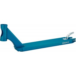 APEX Pro Scooter Deck 49cm Turquoise - Plateau Trottinette Freestyle