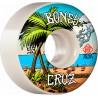 BONES Wheels V2 Cruz Bue Na Vida STF 53mm - Roues Skateboard