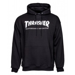 THRASHER Hoody Skate Mag Black - Sweat A Capuche Thrasher
