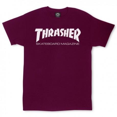THRASHER Skate Mag Tee-shirt - Maroon
