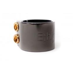 ETHIC DTC Basic Clamp Noir Chrome - Collier de Serrage Trottinette Freestyle